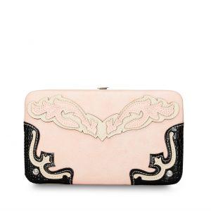 Western Wallet Pink/Black Designer Inspired