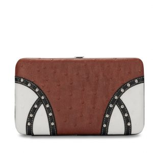Western Wallet VWW5 BROWN/WHITE