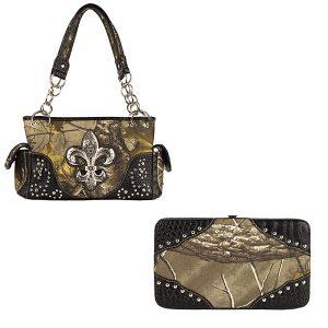 Realtree Camouflage Handbag & Wallet Combo VRT10 AP Camo