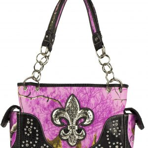 Realtree Camouflage Conceal & Carry Handbag Wild Orchid