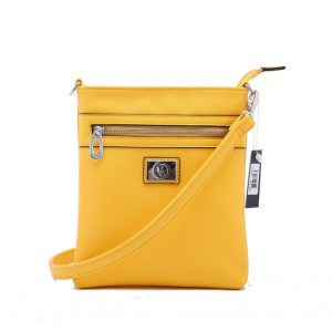 Vera Design Fashion Messenger Bag VZ12 Yellow